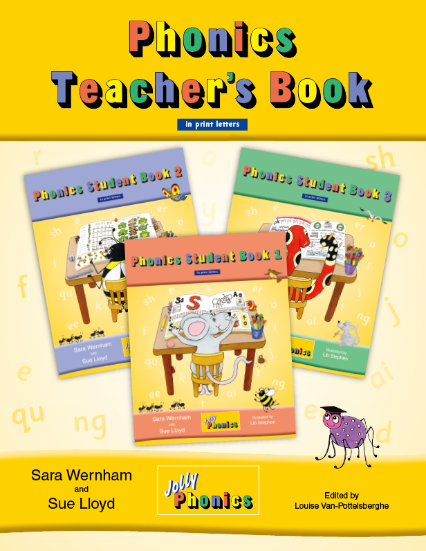Phonics Teacher's Book_Jolly Phonics|SmartEd Inc. is a provider of educational consulting, support and sales of educational materials for international schools.