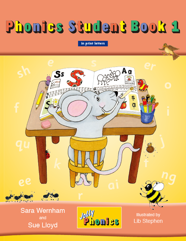 Jolly Phonics_Phonics Student Book1|SmartEd Inc. is a provider of educational consulting, support and sales of educational materials for international schools.